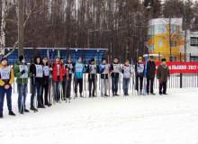 ДОСААФовская лыжня 2017 Ярославская ОТШ ДОСААФ России