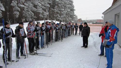 ДОСААФовская лыжня 2015
