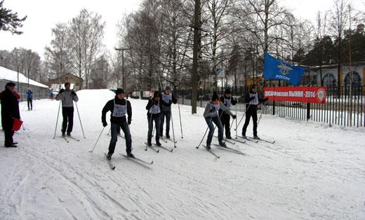 Курсанты Ярославской ОТШ приняли активное участие в соревнованиях «ДОСААФовская лыжня – 2016»